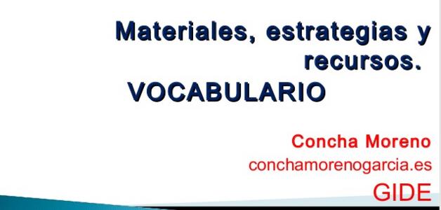 Taller de lectura: enseñar vocabulario