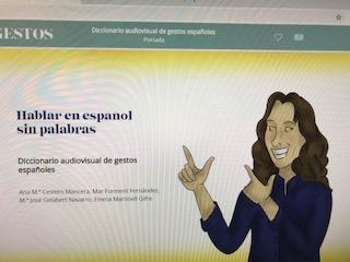 Diccionario audiovisual de gestos